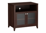 Grand Expressions Tall TV Stand in Warm Molasses - Kathy Ireland