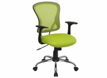 Green Mesh Executive Office Chair - H-8369F-GN-GG