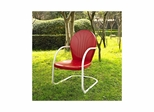 Griffith Metal Chair in Red - CROSLEY-CO1001A-RE