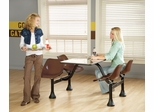 "Group/Cluster Table and Chairs with 24""x48"" Table Top - OFM - 1004"