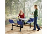 "Group/Cluster Table and Chairs with 30""x48"" Table Top - OFM - 1005"