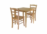 Groveland 3Pc Dining Set - Winsome Trading - 34330
