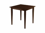 Groveland Square Dining Table in Antique Walnut - Winsome Trading - 94035