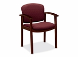 Guest Chair - Mahogany/Wild Rose - HON2111NBE62