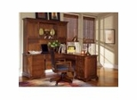 Halton Hills Collection - Home Office Furniture Collection in Toasted Oak Finish
