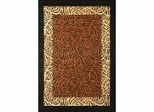 "Hand Carved Machine Woven Rug - 5' 3"" x 7' 6"" - Terra 748-26 - International Rugs"