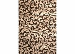 "Hand Carved Machine Woven Rug - 5' 3"" x 7' 6"" - Terra 8018-8002 - International Rugs"