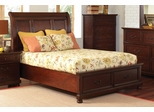 Hannah Queen Storage Bed in Brown Cherry - 200831Q
