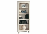Harbor View Antiqued White Library Bookcase - Sauder Furniture - 158085