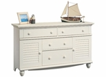 Harbor View Dresser Antique White - Sauder Furniture - 158016