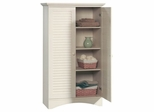 Harbor View Storage Cabinet Antiqued White - Sauder Furniture - 400742