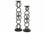 Harmony Candle Holders (Set of 2) - IMAX - 56319-2