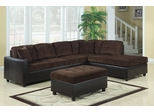 Henri L-Shape Casual Contemporary Sectional with Reversible Chaise - 503013