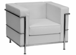 HERCULES Regal Series Contemporary White Leather Chair - ZB-Regal-810-1-CHAIR-WH-GG