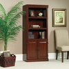Heritage Hill Library with Doors Classic Cherry - Sauder Furniture - 102792