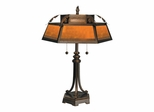Hex Mica Table Lamp - Dale Tiffany
