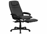 High Back Black Leather Executive Reclining Office Chair - BT-70172-BK-GG