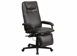 High Back Brown Leather Executive Reclining Office Chair - BT-70172-BN-GG