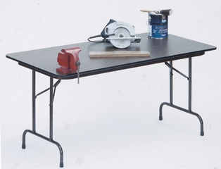 """High-Pressure 3/4"""" Top Folding Table 18"""" x 60"""" - Correll Office Furniture - CF1860PX"""