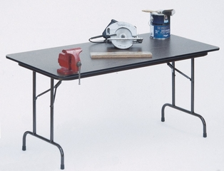 """High-Pressure 3/4"""" Top Folding Table 30"""" x 60"""" - Correll Office Furniture - CF3060PX"""