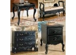 Hills of Provence Furniture Collection Antique Black - Powell Furniture
