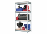 Hirsh Industrial Duty 4 Shelf Unit - Hirsh Industries - 17293