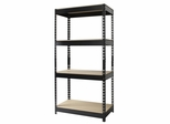 Hirsh Riveted Steel 4 Shelf Unit - Hirsh Industries - 17125