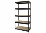 Hirsh Riveted Steel 5 Shelf Unit - Hirsh Industries - 17127