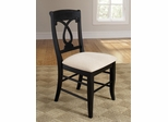 Holland Pineapple Back Dining Side Chair - Set of 2 - 103822BLK