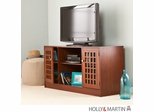 "Holly & Martin Akita 50"" TV / Media Stand - Brown Mahogany"
