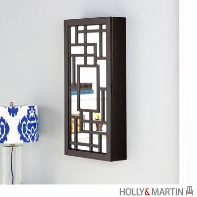 SEI Carmen Wall Mount Jewelry Mirror
