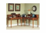 Home Office Desk Collection in Warm Oak