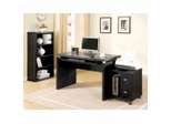 Home Office Furniture Set in Black - Coaster