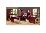 Home Office Furniture Set in Mahogany - In Space New Generation - Bestar Office Furniture