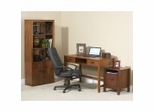 Home Office Furniture Set in Mahogany - Mission Nuevo - Inspirations by Broyhill