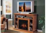 Home Theater Electric Fireplace by Classic Flame in Premium Oak - Beverly - 23MM374-O107