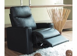 Home Theater Recliner in Black Leather Match - Coaster