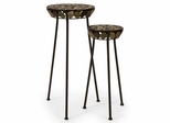 Horizon Plant Stands (Set of 2) - IMAX - 1753-2