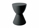 Hourglass Stool in Black - DC-204-BLACK