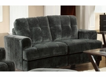 Hurley Urban Tufted Charcoal Loveseat - 503522