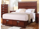Hyland Bed in Dark Cherry - 202241Q