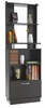 Inval Furniture Deluxe Tall Bookcase with Storage