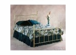 Iron Bed / Metal Bed - Chelsea Bed in Classic Brass Finish - Hillsdale Furniture