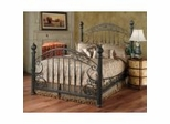 Iron Bed / Metal Bed - Chesapeake Bed in Rustic Old Brown - Hillsdale Furniture
