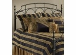 Iron Bed / Metal Bed - Ennis Bed in Rubbed Gold Finish - Hillsdale Furniture
