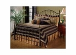Iron Bed / Metal Bed - Huntley Bed in Dusty Bronze - Hillsdale Furniture