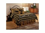 Iron Bed / Metal Bed - Kendall Bed in Bronze - Hillsdale Furniture