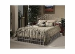 Iron Bed / Metal Bed - Mableton Bed in Antique Pewter - Hillsdale Furniture