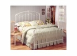 Iron Bed / Metal Bed - Maddie Bed in White Finish - Hillsdale Furniture