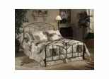 Iron Bed / Metal Bed - Marco Bed in Brown Steel - Hillsdale Furniture
